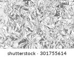 Silver Foil Background With...