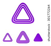 purple line triangle logo...