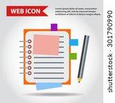 illustration of copy book for... | Shutterstock .eps vector #301790990
