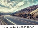 Cinematic Road Landscape....