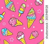 vector illustration of bright... | Shutterstock .eps vector #301948928