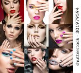 Nail Art Collection. Beauty...