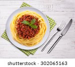 Spaghetti Bolognese On The...
