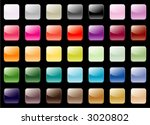an assortment of 35 colored...