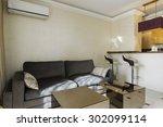 interior of modern studio... | Shutterstock . vector #302099114
