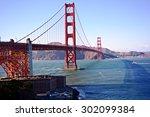 san francisco  california  usa. ... | Shutterstock . vector #302099384
