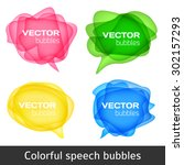 abstract shape design. colorful ...   Shutterstock .eps vector #302157293