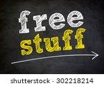 free stuff   Shutterstock . vector #302218214