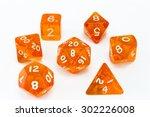 Dice Composition Orange