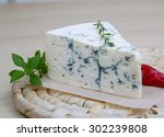 Blue Cheese On The Wood...