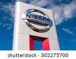 klaipeda jul 26  nissan... | Shutterstock . vector #302275700