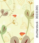 sweet nature design with little ... | Shutterstock .eps vector #30231301