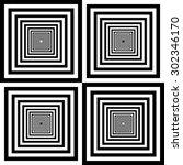 design element.  black and... | Shutterstock .eps vector #302346170