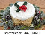 Traditional Christmas Cake Wit...