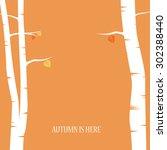 autumn abstract vector...   Shutterstock .eps vector #302388440
