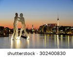 Stock photo berlin city 302400830