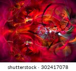 modern abstract background... | Shutterstock . vector #302417078
