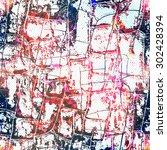 grunge seamless texture | Shutterstock .eps vector #302428394