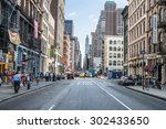 new york city   june 10 ... | Shutterstock . vector #302433650