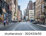 new york city   june 10 ... | Shutterstock . vector #302433650
