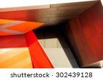 detail view of modern city... | Shutterstock . vector #302439128