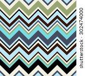 geometric vector pattern in... | Shutterstock .eps vector #302474000