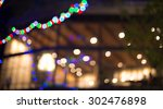 blur coffee cafe shop... | Shutterstock . vector #302476898