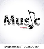 Music. Musical Background With...