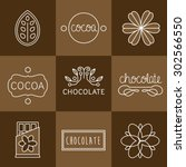 cocoa icon  logo  signs and... | Shutterstock .eps vector #302566550