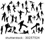 happy people | Shutterstock .eps vector #30257524