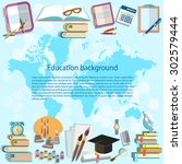 science and education back to... | Shutterstock .eps vector #302579444