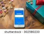 chiangmai  thailand  august 2 ... | Shutterstock . vector #302580233