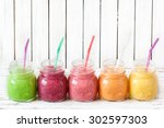 Fresh Healthy Smoothies With...