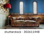 Luxurious Vintage Sofa Decorat...