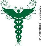 caduceus natural | Shutterstock . vector #30261322