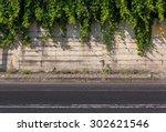 street  sidewalk  wall | Shutterstock . vector #302621546