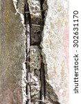 Detail Of Concrete Piling In...