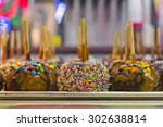 tray of assorted variety of... | Shutterstock . vector #302638814