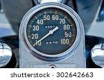 Old Style Vintage Speedometer...