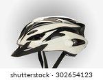 cycling helmets mountain bike... | Shutterstock . vector #302654123
