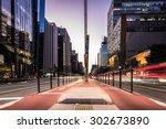 sao paulo  brazil   circa... | Shutterstock . vector #302673890