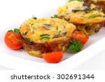 Egg Muffin Cup Dinner Quiche...