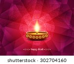elegant card design of... | Shutterstock .eps vector #302704160