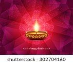 elegant card design of... | Shutterstock .eps vector #302704160