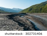 Dry Mountain River Flowing Brook