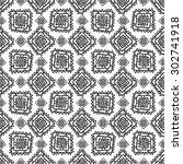 geometric seamless pattern in...   Shutterstock . vector #302741918