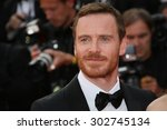 michael fassbender attends the '... | Shutterstock . vector #302745134