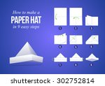 instructions how to make a...   Shutterstock .eps vector #302752814