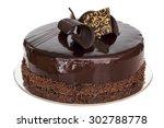 Fancy Chocolate Cake  Whole ...