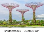Singapore Supertrees At The...